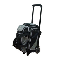 Beste Kwaliteit 840D Nylon 2 Bal Roller Bowling Bag NBY-204G