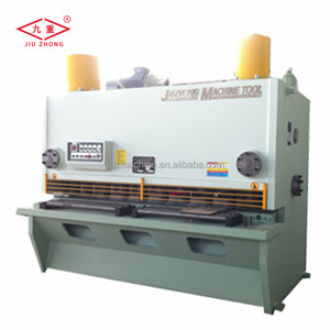 Metal sheet guillotine shear
