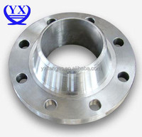 ANSI DN250 wide welding neck carbon steel plate forging flange