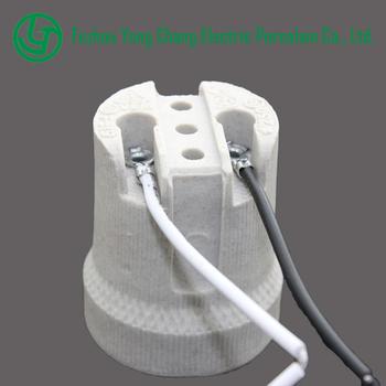 E27 F519 Ceramic Screw E27 Lamp Holder With Wire Buy Lamp Holder E27 Lamp Holder Lamp Holder With Wire Product On Alibaba Com