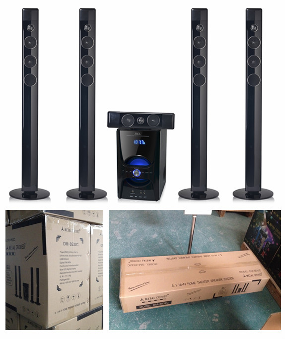 home theater tower speakers. 5.1 tower home theater speaker bluetooth ( dm-8532c) speakers