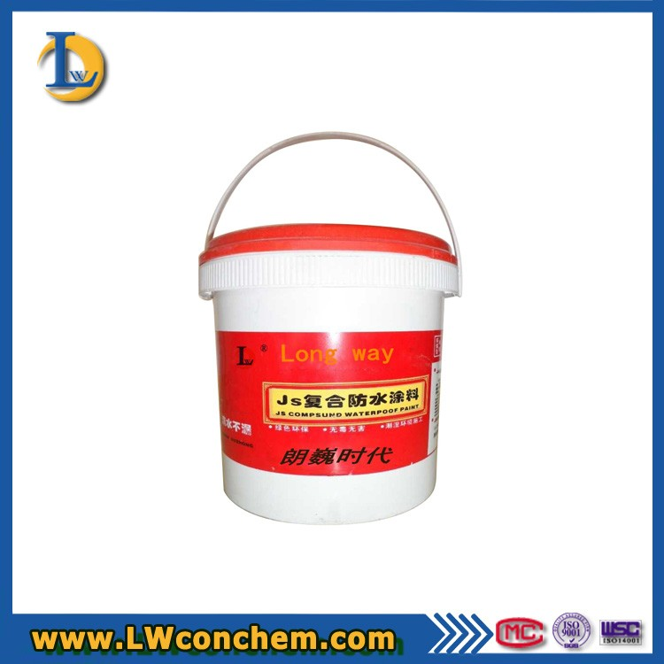 High intensity JS Compound Waterproof Coating for Concrete Roof