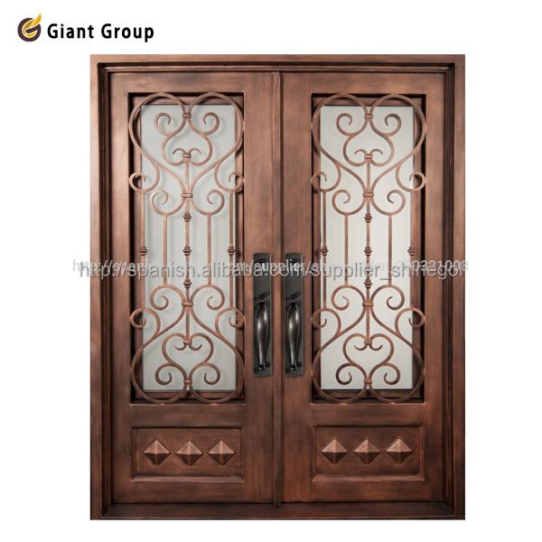 Portones de hierro forjado para casas puertas for Puertas de hierro forjado para exteriores