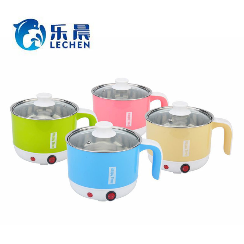 Mini Food Noodle Soup Travel Portable Pot Electric Multi Stainless Steel Cooking Pot with Steamers