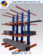 Warehouse stacking rack system Industrial glass storage cantilever racking