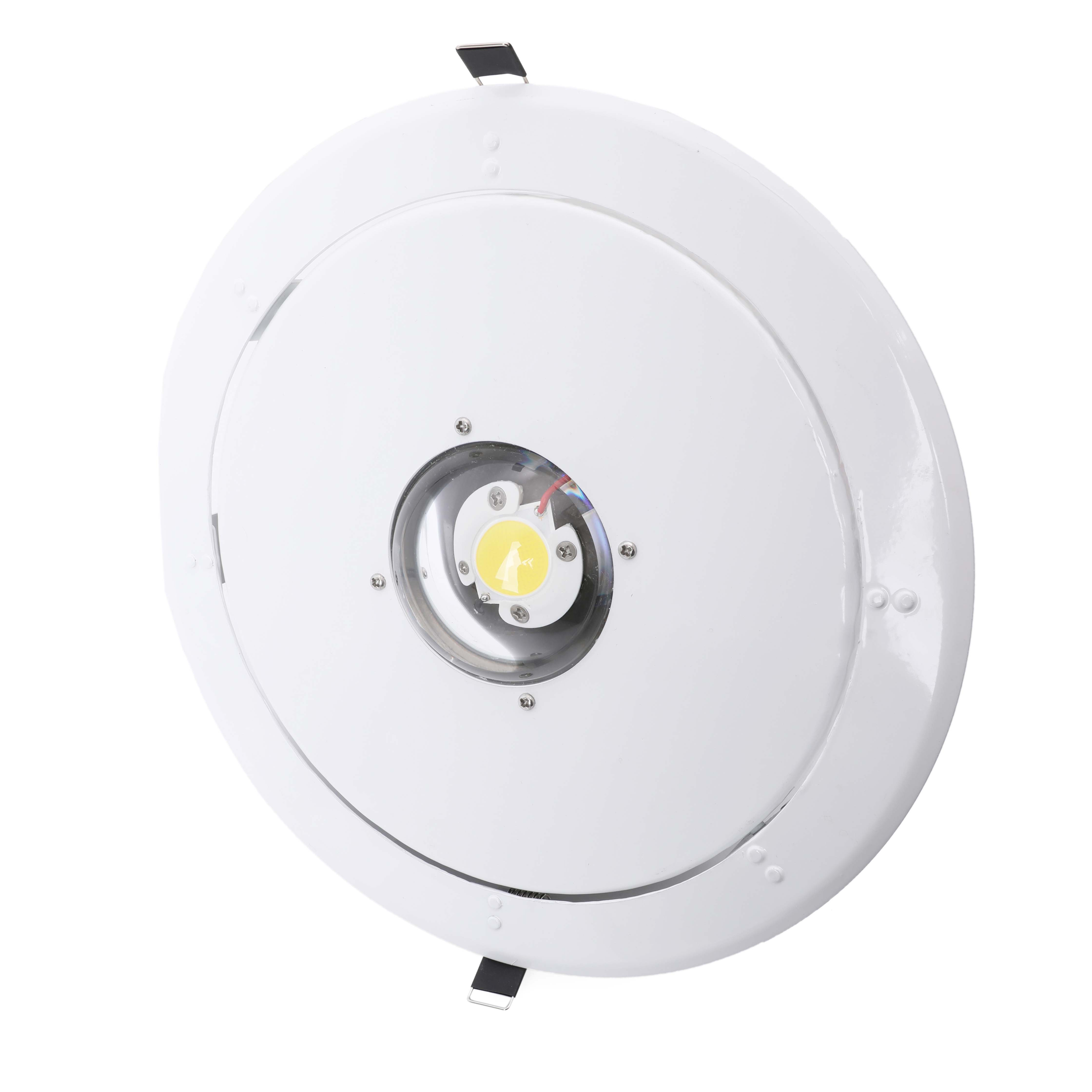 130 Degree Beam Angle Hole Size 70mm Acrylic Ip44 Bathroom Marine 175mm Cutout Led <strong>Downlight</strong>