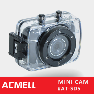 Portable full hd 720 p mini camcorder impermeable outdoor sports