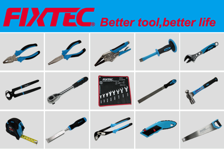 Different kinds of Hand Tools of FIXTEC brand from China