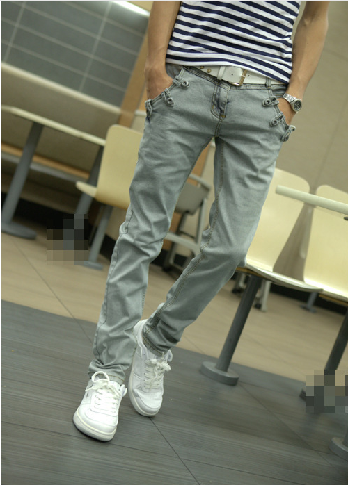 d7642653 Men Paco Denim Fabric Design Rock Revival Men Jeans With Pocket ...