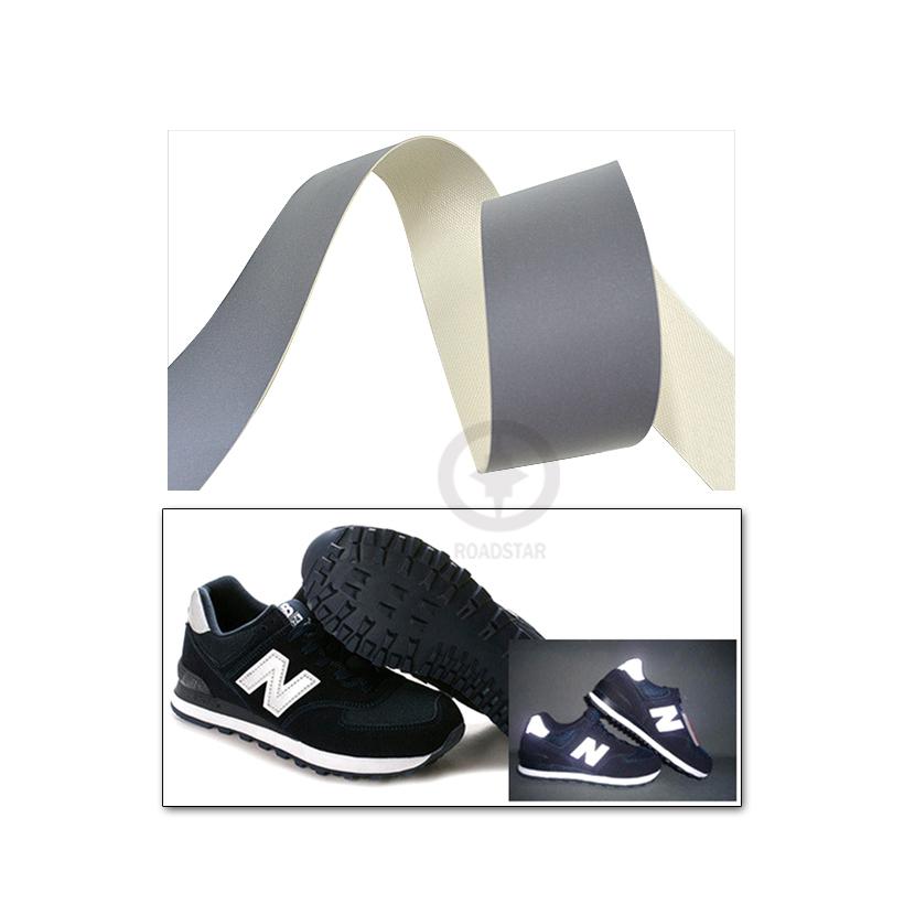 5 см x 10 м высокой интенсивности светоотражающие кожа пвх для и обувь