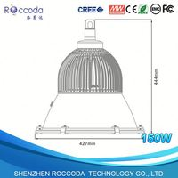 1138 commercial pendant lighting fixtures shenzhen time EXW price led high bay 150w fan heat sink