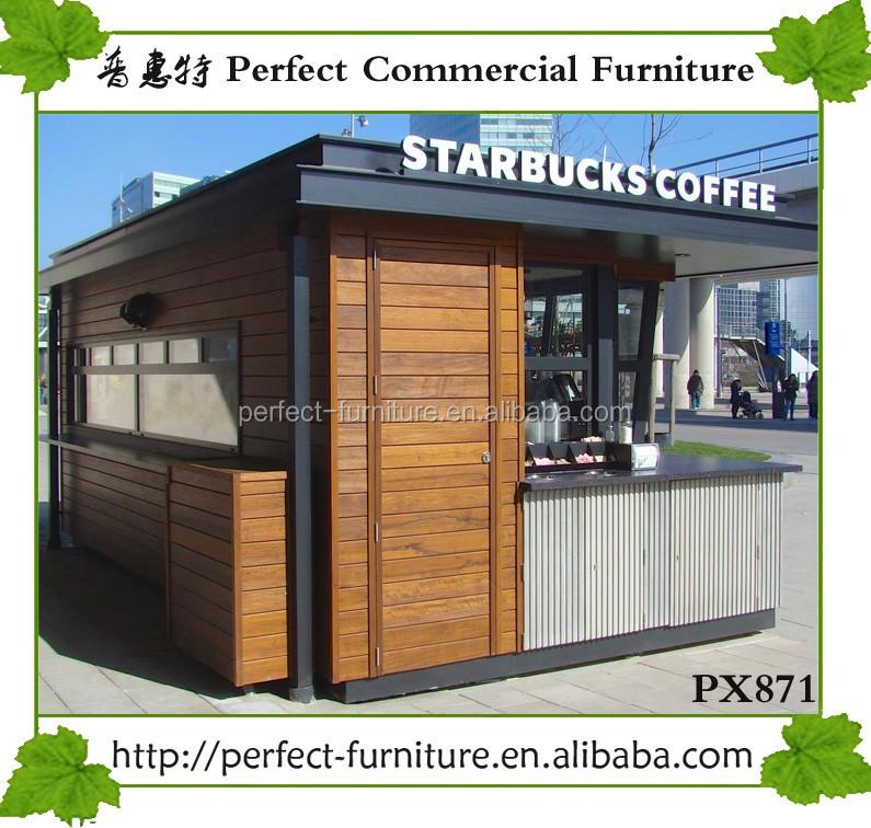 Wooden Kiosk Coffee Cart Vendor Kiosks To Sell Coffee