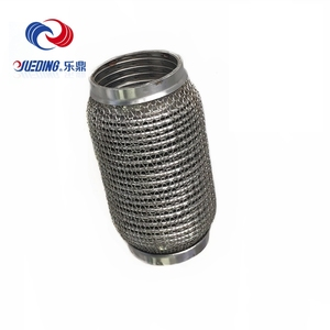 Auto Engine stainless steel seamless pipe flexible exhaust pipe cover