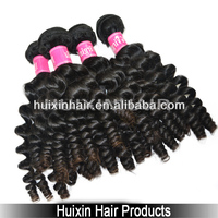 "2014 6A Elegant queen hair,6A grade factory price 14"" kinky curl Brazilian virgin human hair extension baby curly"