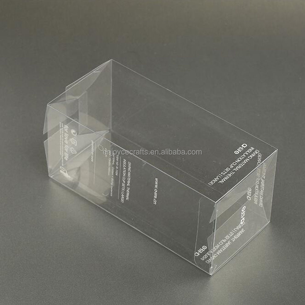 Factory wholesale package box with pvc window