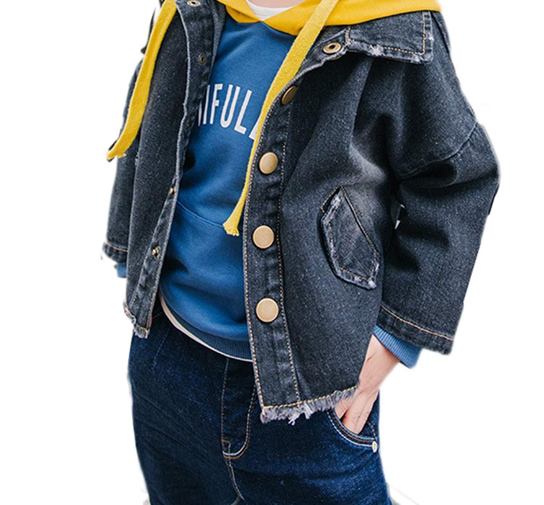 9d63cc32e Get Quotations · JIANLANPTT Baby Kids Denim Jacket Coat Boy Girls Spring  Autumn Children Outwear