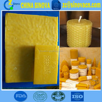 candle wax supplier in changge 100% natural pure bee wax for making candles