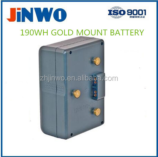 GOLD MOUNT LI-ION BATTERY 190WH 14.8V 13Ah Broadcast Camera Battery GOLD MOUNT LI-ION Broadcast BATTERY