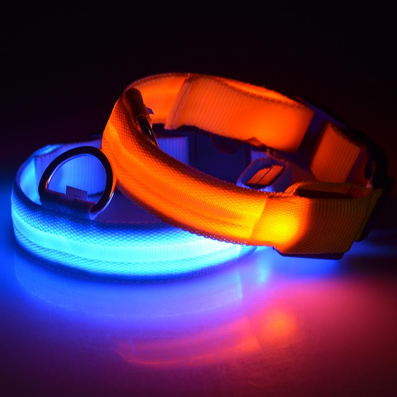 Fabriek Groothandel Goedkope Prijs Veiligheid Led Licht Lichtgevende Halsband