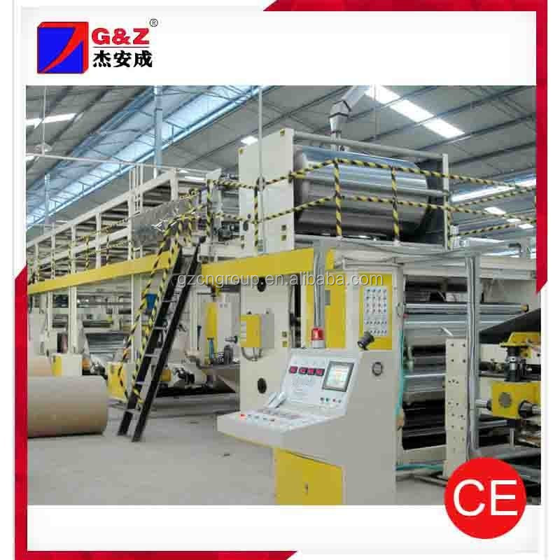 Five Layer Corrugating Cardboard Production Line