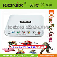 Portable high speed 1080P capture box for game player