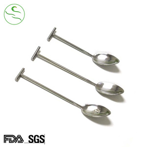 Factory Direct Sales Coffee Stirring Mini Metal Tea Spoon