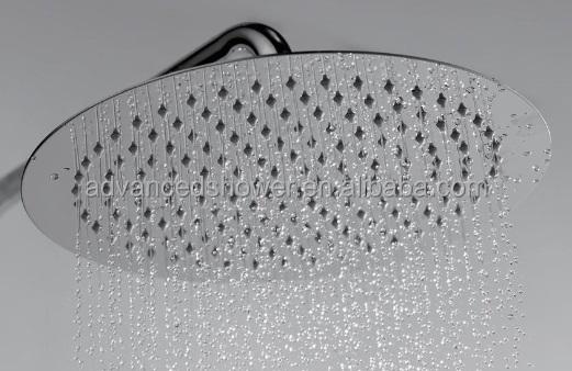 24 inch rain shower head water filter