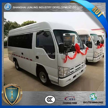 Chinese county bus could be used for carrying 15 people and 2ton goods.