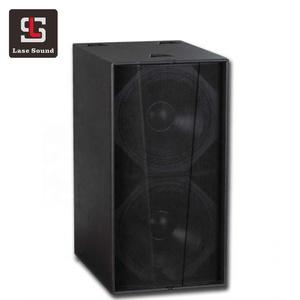 S218+ martin speaker dual 18 inch big bass speaker 1200w power subwoofer  speaker box