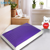 Cheap price gel viscoelastic memory foam bedroom pillow