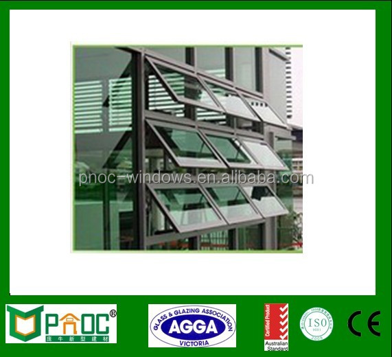 Australia Style Aluminium Top Hung Window, Awning Window For Light Steel Housing