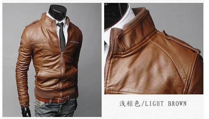 Italian leather jacket men