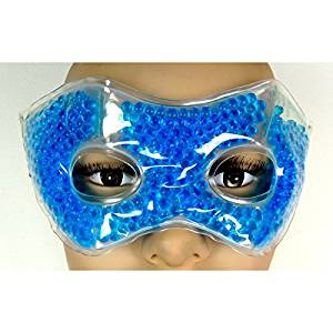 Hot cold eye mask with balls to relax the eyes