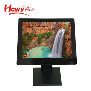 2018 Shenzhen 15inch Touch Screen LCD VGA & USB Monitor