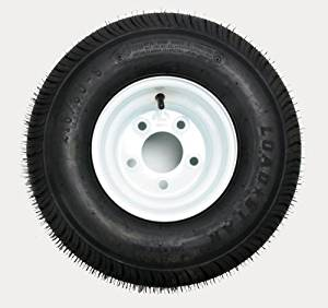 Kenda Trailer Tire/Wheel Assembly - 6-Ply Rated/Load Range C - 215/60-8 - 5 Hole Rim 3H310 by Kenda