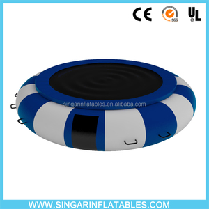 Aqua Jump Water Trampoline Bouncer Springless Inflatable Trampoline
