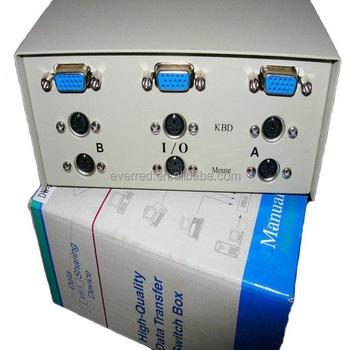 KVM 2Port Data Switch Box6091