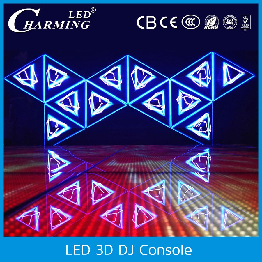 3D sound control LED dj booth panels