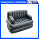 PVC inflatable king size chesterfield sofa cum bed