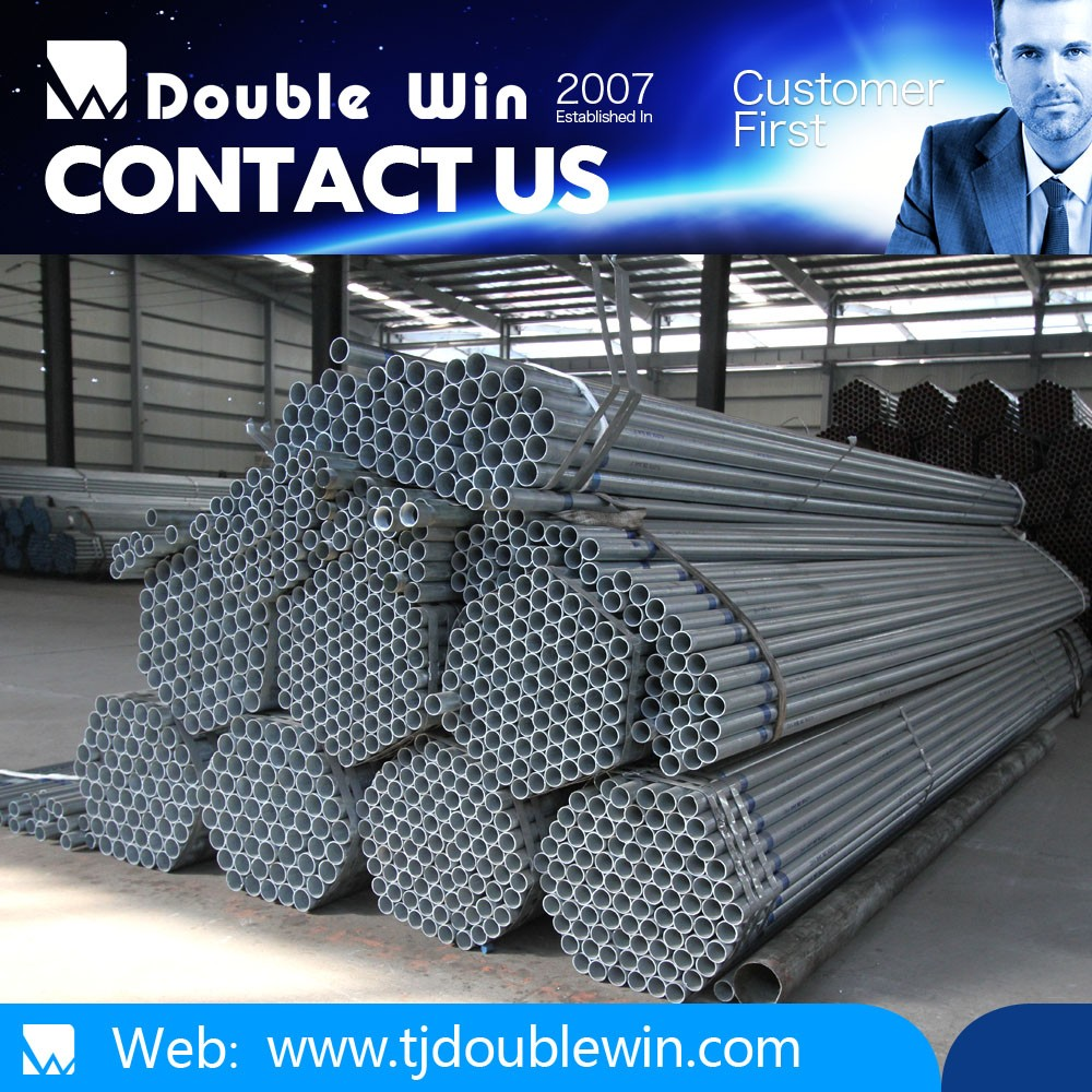 buy 20-323.9mm hot dip galvanized steel pipe size madie in Tianjin from china