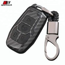 Double protection silicone car key shell, customized key case for Lincoln MKZ, key cover factory