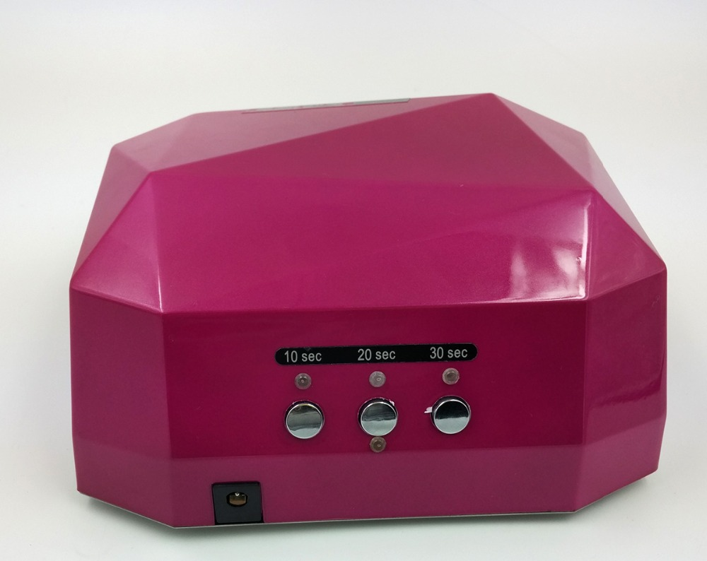 36W CCFL&LED uv led lamp nail, CCFL Led Nail UV Lamp 36w with timer for professional use full featured nail art tool