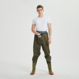 Breathable Fishing Wader Pants Insulated Bootfoot Chest Neoprene Hunting Wader
