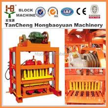 Small scale industries QT4-40 manual concrete blocks machine used block making machine for sale