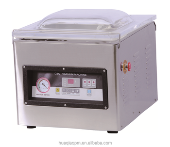 DZ400 with CE certificate 304 stainless steel, professional industrial food vacuum packing machine