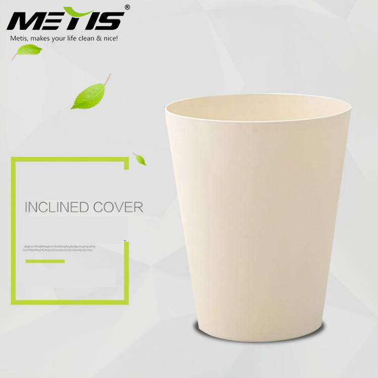 trade assurance B1004-2 flexible cover square 9L PP material garbage waste bin