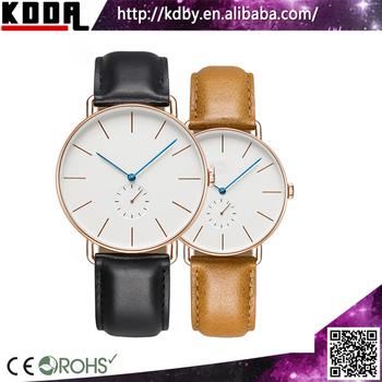 Hombres Relojes Top Marca Ultra Delgado Reloj Hombres