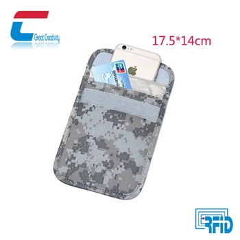 Camo Pouch Case Bag Blocking- Prevent Cell Phone Gps Signal Tracking  Blocker Rfid Shield Case - Buy Pouch Case Bag Blocking,Key Fob Bag,Keyfob  Rfid