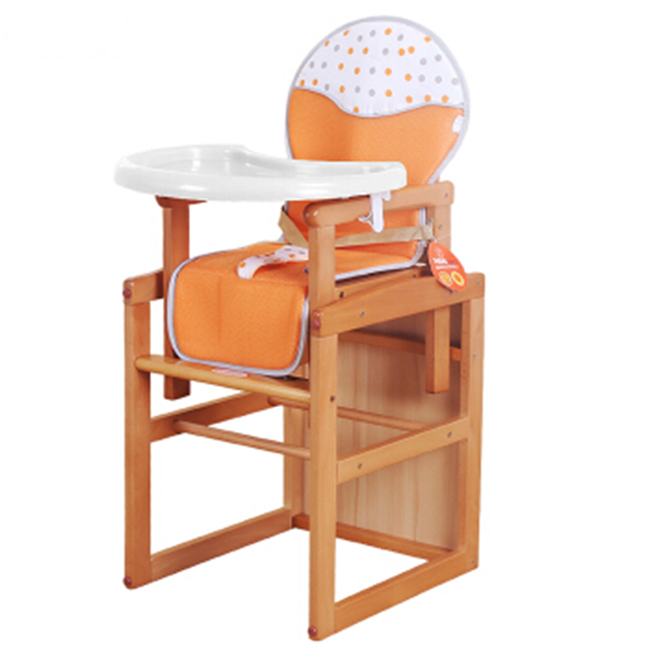 2017 Most Stylish Wooden High Chair 3 In 1 Assemble Desk And Baby Chair Adjustable Portable Infant Feeding Chair Buy High Chair Woodbaby Desk And