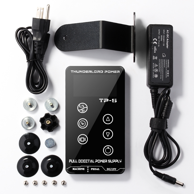 T P-5 Professional Power supply Digital Tattoo Power Supply High Quality Power Supply high-quality factory outlet